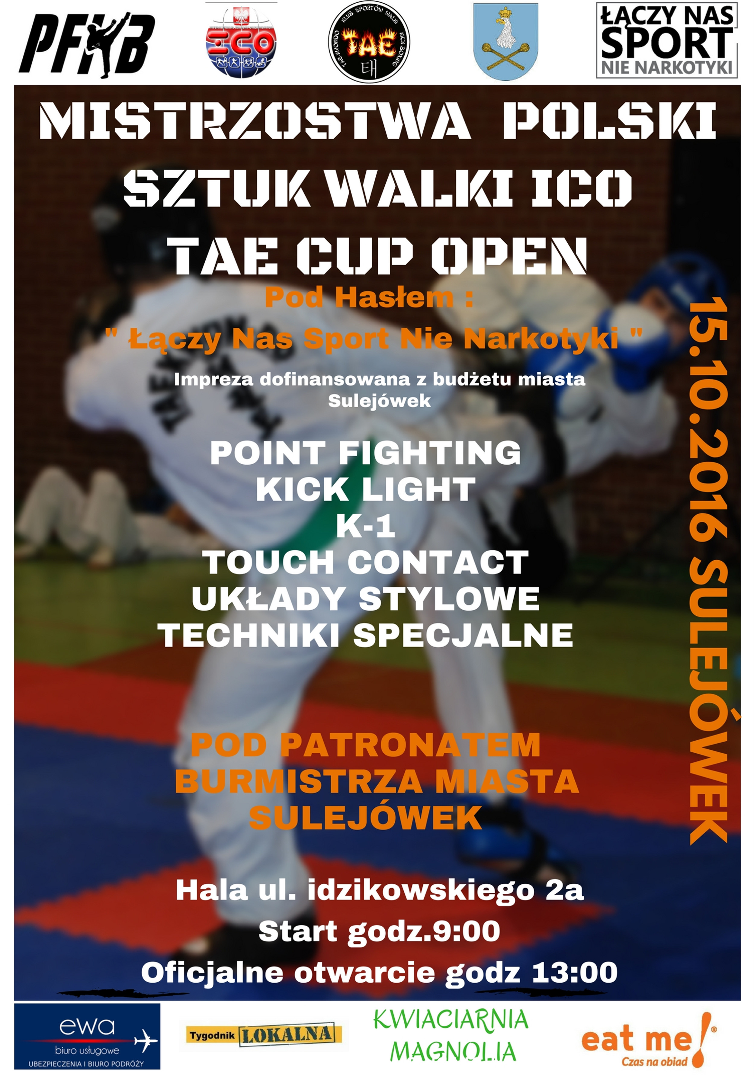 Plakat I Komunikat Mp Ico Sulejówek 15102016 Klub